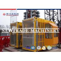 Wholesale Sc100/100 Elevator Dipping Zinc Construction Hoist Safety , Building Hoist / Elevator from china suppliers