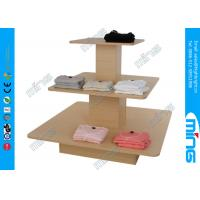 Wholesale Economy T Shirt Wooden Store Display Table in Melamine , Modern Design from china suppliers