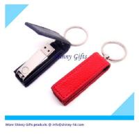 Buy cheap leather swivel usb flash drive  from wholesalers