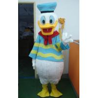 Wholesale handmade adult plush Donald Duck disney cartoon costumes in marine uniform from china suppliers