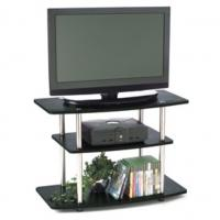Wholesale 32-Inch Flat Screen Modern TV Stands With Wood Grain Finish DX-BB22 from china suppliers