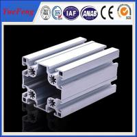 Wholesale Matt Silver Industrial custom aluminum extrusion supplier(ISO manufacturer) from china suppliers