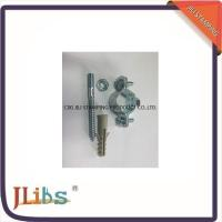 Welding Galvanised Steel Pipe Clamp Fittings  With Nut Screw round pipe clamps