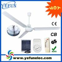 Wholesale Solar DC Ceiling Fan YF-12V56A from china suppliers