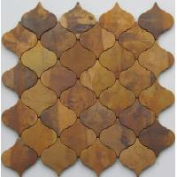 Wholesale Modern Small Bronze Metallic Mosaic Tiles For Interior Projects 8mm Thick from china suppliers