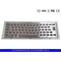 Wholesale 304 Stainless Steel Industrial Mini Keyboard High Vandal-Proof With 64Keys from china suppliers