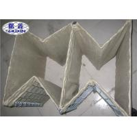 Heavy Duty Hesco Defensive Barriers MIL 1 For Bunker Galvanized Feature