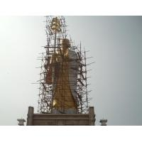 Wholesale 12 meters high bronze bodhisattva,Largest Ksitigarbha buddha sculptures from china suppliers