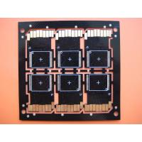 Wholesale 2 Layers Cooper Base 0.2MM Tickness Custom PCB Boards with Heavy Gold for SD Card from china suppliers