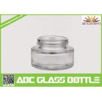 Wholesale Best Selling Foundation Bottle Glass Cosmetic Cream Container,Clear Skin Care Glass Bottle from china suppliers