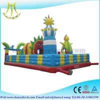 Wholesale Hansel Hansel adults gaint inflatable slide for outoor park from china suppliers