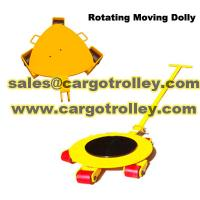 rotating moving dolly