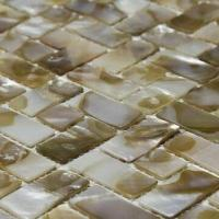 Wholesale Shell Mosaic, Made with Natural Shell, Joints or No Joints Can be Offered Based on the Clients' Need from china suppliers