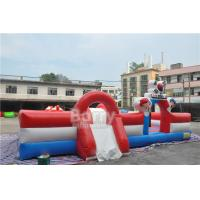 Wholesale Custom Inflatable Playground , Special Inflatable Fun City Boxing Bull Theme from china suppliers