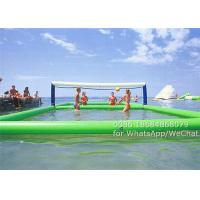Wholesale Commercial PVC Inflatable Water Sports , Inflatable Water Volleyball Court 11 x 4.5 m from china suppliers