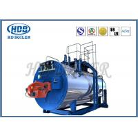 Wholesale Oil Fired / Gas Fired Steam Boiler , Industrial Steam Generators High Efficiency from china suppliers
