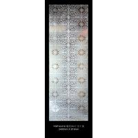Wholesale Frosted Decorative Laminated Glass With 3D Deep Carved Pattern For Ornamental from china suppliers