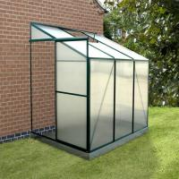Wholesale Flowers Lean-to Polycarbonate Greenhouse from china suppliers