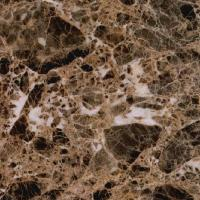 Quality Dark Emperador White Marble Kitchen Worktops , Natural Marble Cabinet Tops for sale