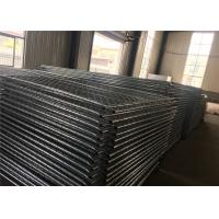 """Wholesale Temporary Chain Link fence panels 4' 6' 8 ' optional width 12 ' tubing 1¼""""(32mm) x 1.6mm thick 2⅜""""x2⅜""""(60mmx60mm) from china suppliers"""