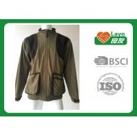 Wholesale Multi Function Waterproof Breathable Rain Jacket / Coat Grey Color 100% Polyester from china suppliers
