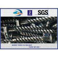 Wholesale Rail Screw & Spikes,  Spiral Spikes for railway fastening system from china suppliers