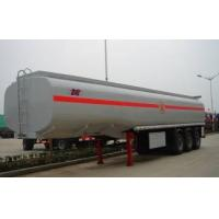 Buy cheap 3 axle 38000 Liters fuel tanker semi trailer (38CBM) from wholesalers