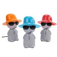 Wholesale Smoking boy table lamp / nightlight + piggy bank color random from china suppliers