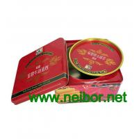 Wholesale Square tin box with double lids for egg rolls packaging cookie tin box from china suppliers