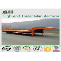 Wholesale SKW9402TDP Drop deck semi trailers with 10 / 10 / 10 leaf spring suspension from china suppliers