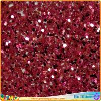 Buy cheap hot sale glitter powder for leather, decoration, nail art, cosmetic, printing, textile etc. from wholesalers
