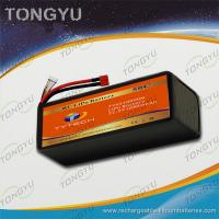 Wholesale Rechargeable UAV 6S 22.2V 10900mAh 25C LiPo RC Battery Pack Waterproof from china suppliers