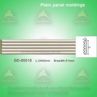 Wholesale European style Environmental Decorative PU Plain Panel mouldings from china suppliers