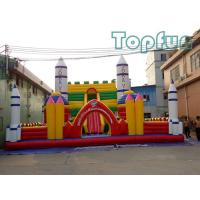 Wholesale Rocket Launch Centre Jumping Castle 10m x 10m Customized For Amusement Park from china suppliers
