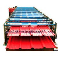 Wholesale Double Layer Wall Panel Roll Forming Machine Automatic High Speed have PLC control from china suppliers