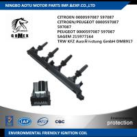 Wholesale CITROEN PEUGEOT Ignition Coil 0000597087 597087 SAGEM 215977164 from china suppliers
