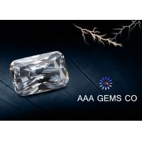 Wholesale Radiant Cut White Moissanite Loose Stones Eight Arrows Eight Hearts from china suppliers