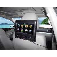 """Wholesale HD 800 x 480pixes 9"""" Touch screen Car Headrest DVD Players with  MP5 S-PD9519T from china suppliers"""