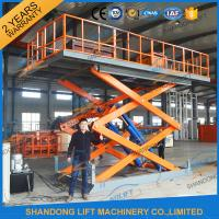 Wholesale 4.7M 3T Hydraulic Scissor Car Lift , Electric Car Parking Lift CE TUV SGS Home Use from china suppliers