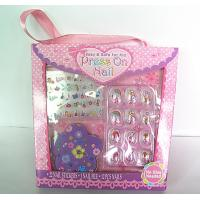 Wholesale Customized Fake Nails manicure kit / acrylic nails starter kit for kid from china suppliers