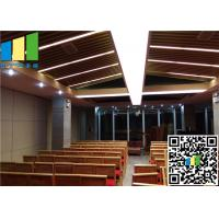 Wholesale 32 / 46 Rw Movable Wall Sound Deadening Panels For Hotel Decoration from china suppliers