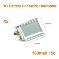 Wholesale Mini RC Battery 3.7V 180mah 15C RC Helicopter - Lowest Price! from china suppliers