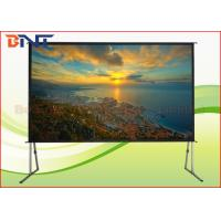 Wholesale Larger Room Front Rear Fast Fold Projector Screen 300 Inch With Aluminum Frame from china suppliers