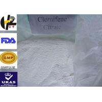 Wholesale Anti Estrogen Oral Steroid Clomifene Citrate CAS 50-41-9 Clomid from china suppliers