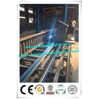 Buy cheap Corrugated web assembling for H beam production line , H beam corruagated welding machine from wholesalers