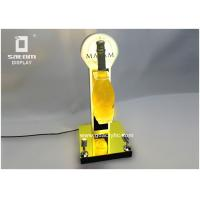 Wholesale Champagne Bottle Glorifier Unique Rotating With Two Spotlight For Party Celebration from china suppliers