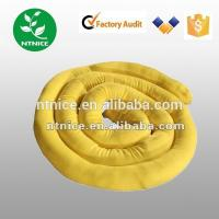 Wholesale chemical haz-chem Absorbent Sock boom 100% polyproplene Fiber  for spill control from china suppliers
