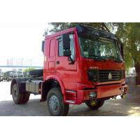 Wholesale ISO CCC SINOTRUK 4 x 4 ALL WHEEL-DRIVE HOWO TRACTOR TRUCK Tow 20-70T EUROII/III LHD or RHD 260-420HP from china suppliers