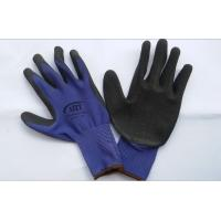 Wholesale knitted coated black nitrile safety glove/working safety gloves from china suppliers