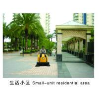 manual vacuum street sweping machine